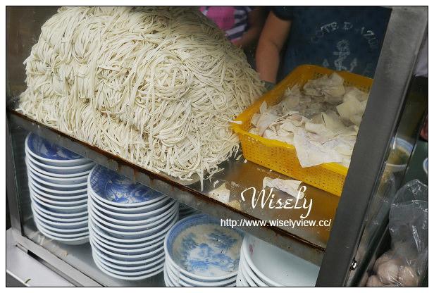【食記】宜蘭縣。羅東鎮:無名阿伯乾麵@位於羅東夜市廟口附近的老攤小吃