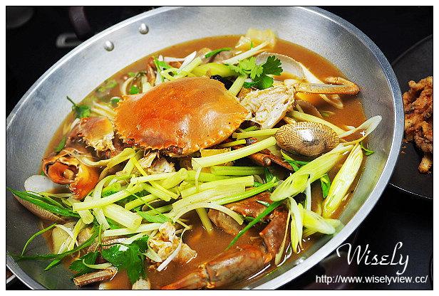 【食記】台北市。大安區:黑潮市集-花甲蟹鍋@來自澳門食材新鮮的重口味粥火鍋