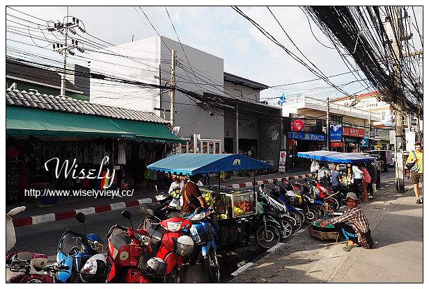 【旅行】泰國。曼谷蘇梅島(蘇美島)十日自由行@Day06:Baan Hin Sai Resort & Spa半日休憩、查汶大街~TopsDaily超市、Chaweng Beach(查汶海灘)、Green Bird 平價泰式餐廳