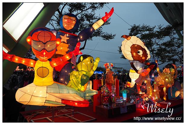 【遊記】台北市。中山區:2015臺北燈節(二訪)@花博公園圓山~喜羊羊報到&金喜羊燈光秀