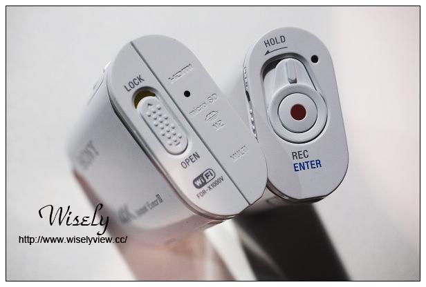 【新品】3C。Sony Action Cam:運動攝影機@4K錄影FDR-X1000V與Full HD AS200V