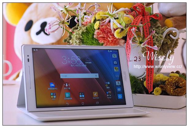 【開箱】3C。華碩平板電腦:ASUS ZenPad Z380C@八吋螢幕的追劇神器,搭配5.1聲道環繞音響原廠皮套音效更佳