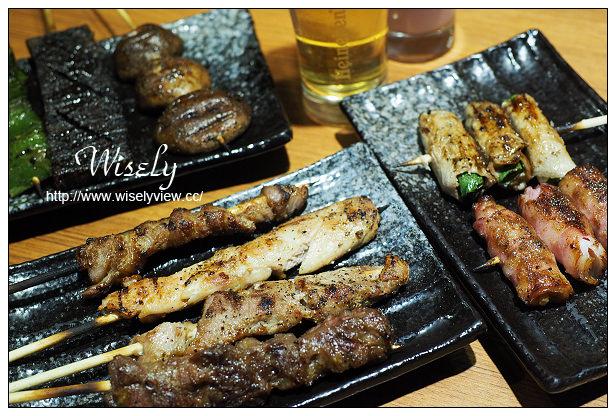 【食記】台北市。中山區:柒-串燒屋@長安東路一段,銅板價外帶串烤店~捷運善導寺站美食