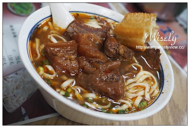 【食記】新北市。永和區:江家黃牛肉麵@甜心園肉干隔壁,近40年老味道~捷運永安市場站美食
