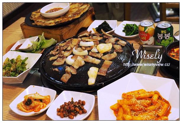 【食記】台北市。中正區:台大公館@首爾之家~黑豬肉烤肉&海鮮煎餅,捷運公館站美食