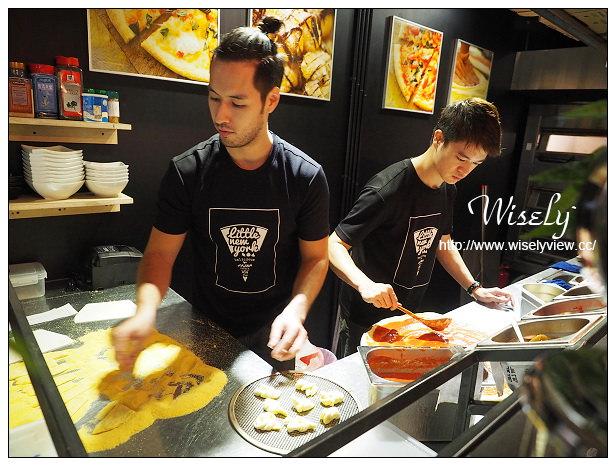 【食記】台北市。松山區:Little New York Pizzeria(小紐約披薩)@特色美式口味,位於延吉街巷弄內~捷運忠孝敦化站美食