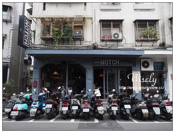【食記】台北市。大安區:Notch咖啡(敦南店)@連鎖復古裝潢咖啡店,捷運信義安和站美食