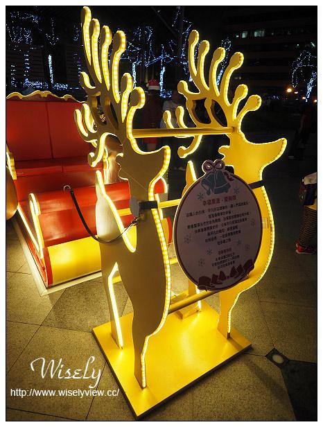 【遊記】台北信義。捷運市政府站@統一阪急百貨2樓夢廣場:「愛.Sharing」六大主題燈區聖誕系列活動