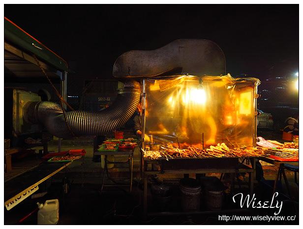 【食記】新北新店。捷運七張站:中興路三段紅燈籠碳烤@鄰近HTC大樓與家樂福