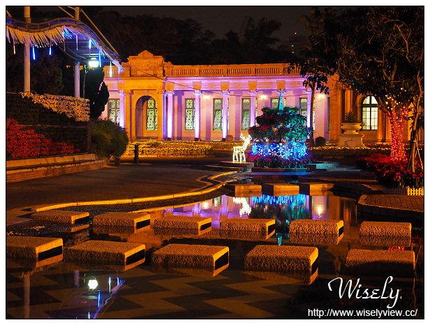 【遊記】台北。2015公館聖誕季:自來水博物館@雪晶聖誔,花現水博館