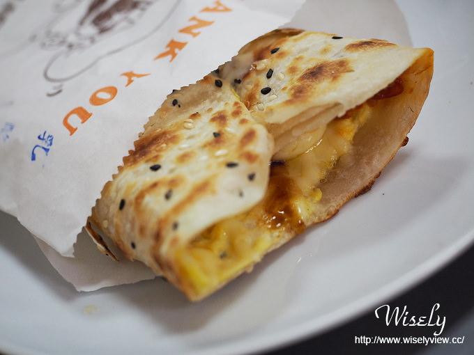 【食記】新北市。永和區:得和路六合市場美食:鮮味饀餅@起士加料特色蛋餅早餐