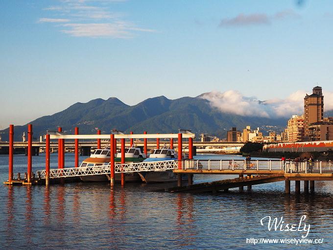 【遊記】台北景點。捷運北門站:大稻埕碼頭@淡水河畔5號水門、渡船碼頭、單車租借