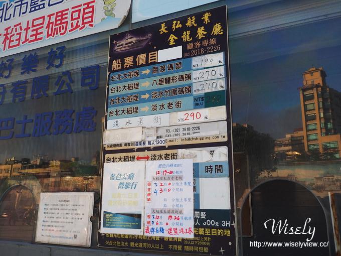 台北景點。捷運北門站︱大稻埕碼頭:淡水河畔5號水門、渡船碼頭、單車租借