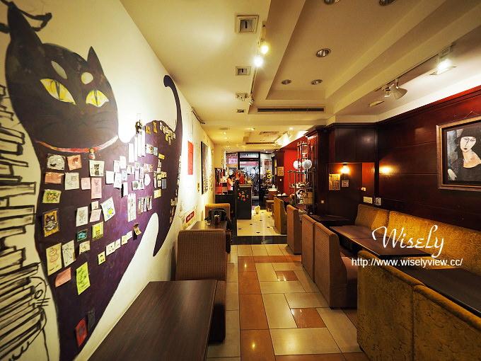 【食記】台北大同。捷運中山站:貓妝自家烘焙咖啡館@貓咪主題咖啡店,鄰近當代藝術館