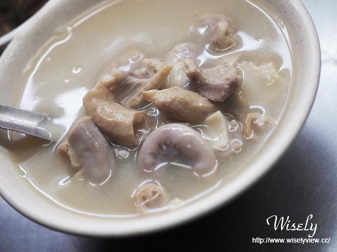 【食記】台北大同。捷運大橋頭站:延三夜市美食@汕頭老牌四神湯~肉粽&刈包