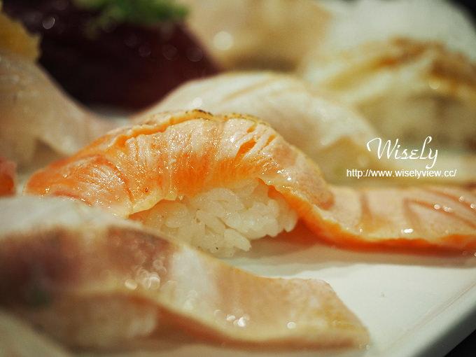 【食記】台北中正。捷運忠孝新生站:三鱻食堂(二店)@握壽司、炸蝦天婦羅湯麵