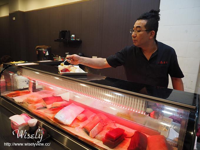 【歇業】台北中正。捷運忠孝新生站:三鱻食堂(二店)@握壽司、炸蝦天婦羅湯麵
