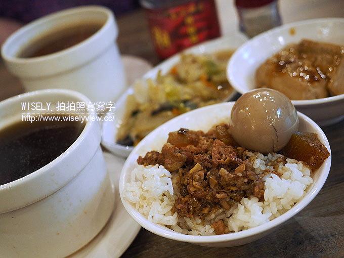 【食記】台北大同。捷運大橋頭站:(大稻埕)大胖張@冬瓜魯肉飯、燉湯