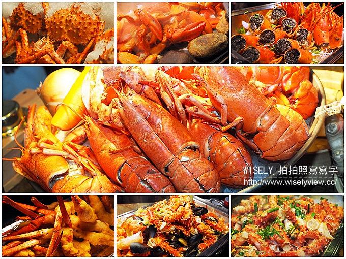 【食記】台北大同。捷運台北車站:君品酒店-雲軒西餐廳@龍蝦帝王蟹12宴(自助餐吃到飽)