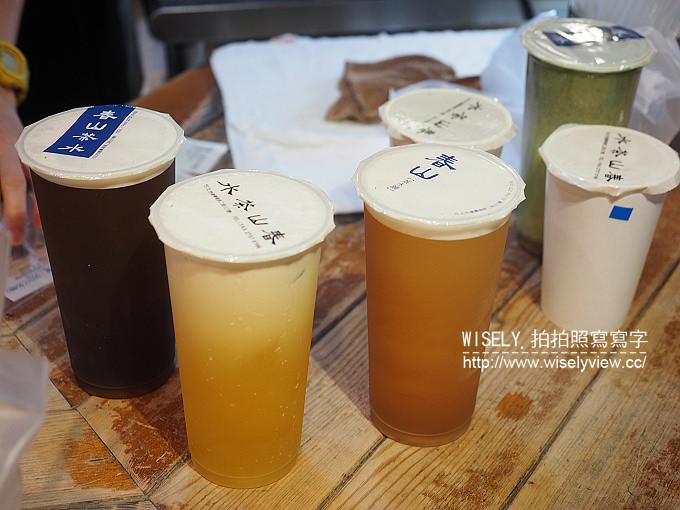【食記】台北大安。捷運科技大樓站:春山茶水鋪@原烏鐵茶水鋪~人氣手搖茶