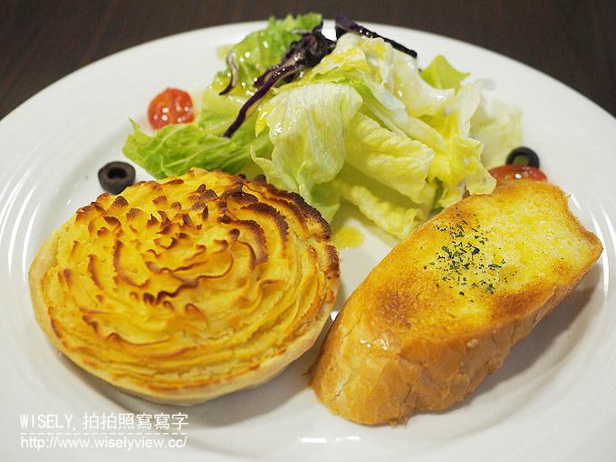 【食記】台北大安。捷運科技大樓站:波特英式小館@早午餐和美味鹹派餐點