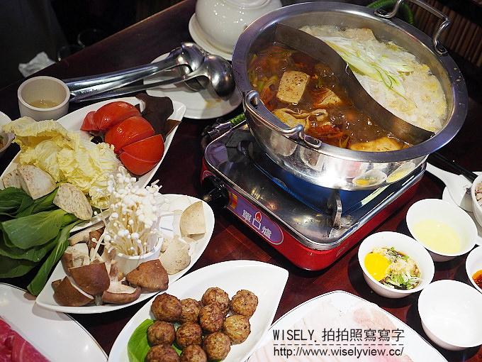 【食記】台北大安。捷運大安站:饕鍋(鴛鴦火鍋)@酸菜白肉鍋&養身麻辣鍋~單點制