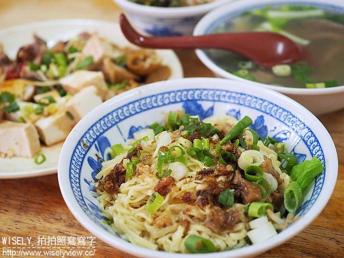 【食記】台北萬華。捷運西門站:黃家乾麵@西門町電影街旁的老字號黑白切小吃