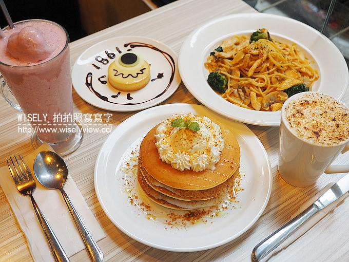 【食記】台北萬華。捷運西門站:1861 Café@西門町的美國街裡二樓輕食餐廳