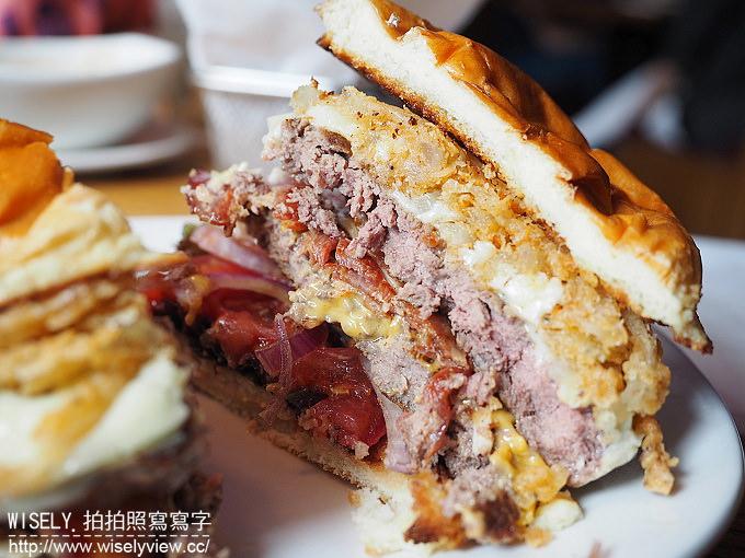 【食記】台北松山。捷運小巨蛋站:American Steakhouse 台北敦北店@牛肉專家在地新品牌,肋眼牛排與驚奇牛肉漢堡超好吃!