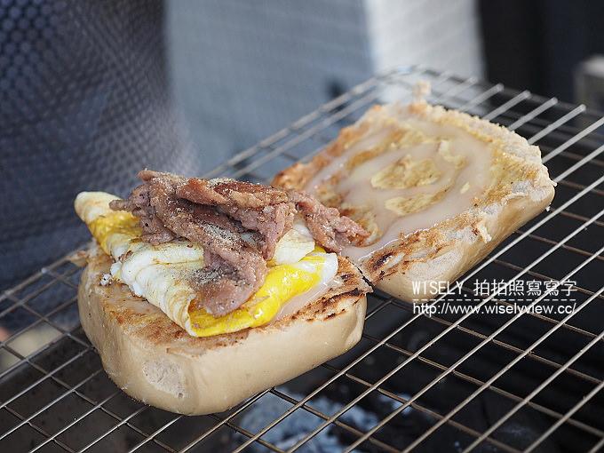 【食記】高雄苓雅。捷運三多商圈站:尼尼早餐店@平價好吃的碳烤饅頭與碳烤漢堡