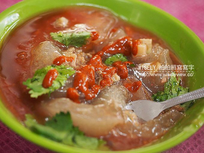 【食記】新北永和。捷運永安市場站:永和宏麵線@竹林市場美食,肉圓與魷魚米粉也好吃