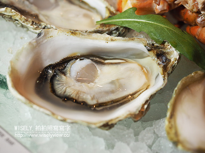【食記】台北信義。捷運市政府站:Oyster Bar (生蠔吧)@Bellavita寶麗廣場(貴婦百貨)B2