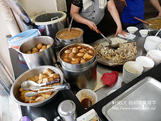 【食記】台北大同。捷運雙連站:龍緣魯肉飯@寧夏夜市旁,圓環老字號在地小吃