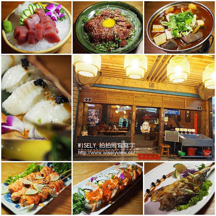 【食記】新北中和。捷運景安站:《新の店》新式台菜熱炒與經典日系料理的混搭平價口味