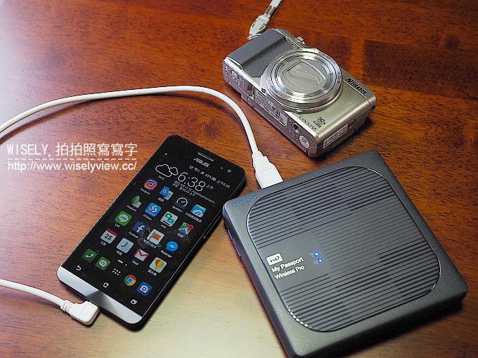 【開箱】無線行動硬碟。WD My Passport Wireless Pro:無需電腦便可直接備份分享,是旅行攝影者的影音照片存檔好幫手