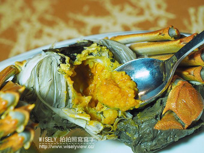 【食記】台北中山。捷運行天宮站:亞都麗緻天香樓(秋蟹宴)@三湖閘蟹鮮香味美限時推出