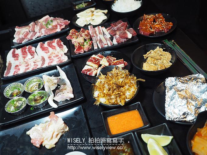 【食記】新北中和。捷運景安站:角亭日式炭火燒肉@平價吃到飽,推松阪豬與剝殼蝦