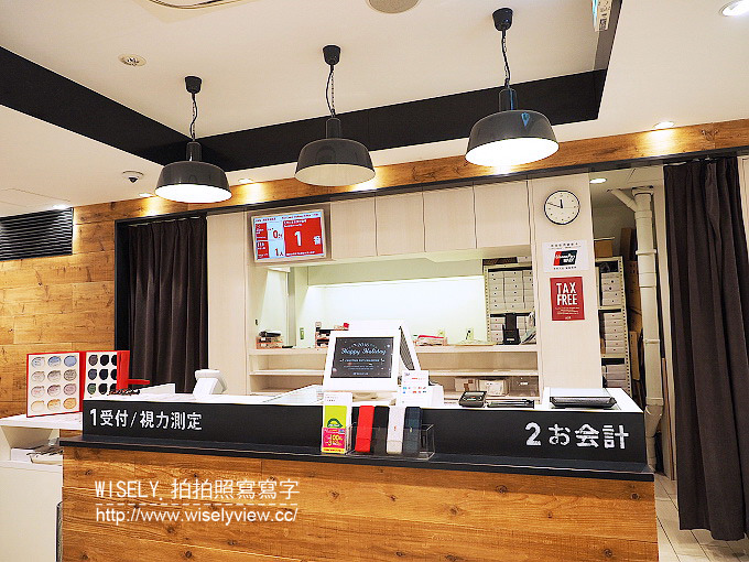 《東京自由行》日本上野駅JINS@日本購物/平價配眼鏡/30分鐘配到好/中文溝通服務佳