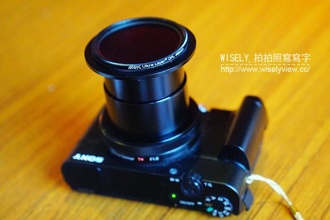 《STC Hood-Adapter。SONY RX100轉接環快拆遮光罩組+ CPL》濾雜光讓天更藍白雲更立體