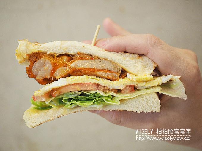 《新北市永和區。中和新蘆線。捷運永安市場站美食》碳之家@四號公園旁的碳烤三明治