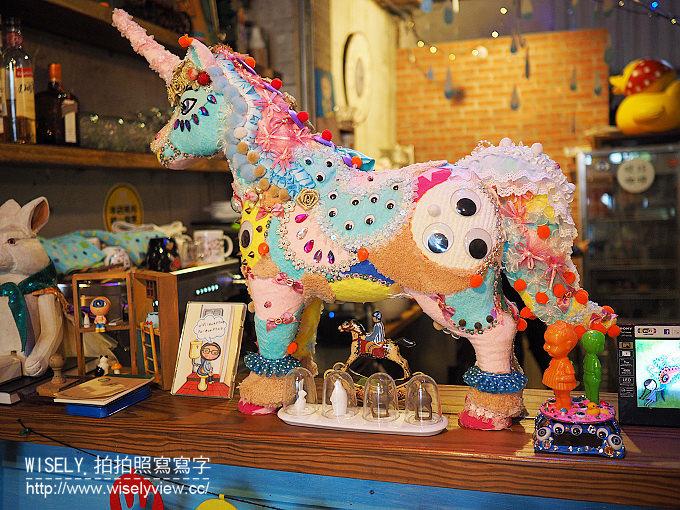 《台北市中正區。松山新店線。捷運中正紀念堂站美食》眼球咖啡@近牯嶺街的童趣美術館
