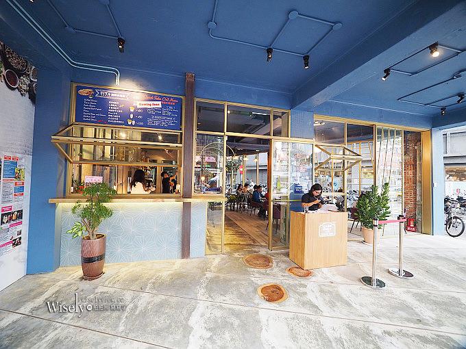 《台北大安。捷運東門站美食》Toasteria Cafe 吐司利亞 永康旗艦店@地中海風設計好吸睛