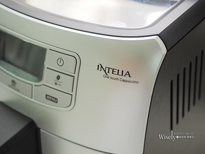 《家電開箱文。飛利浦全自動義式咖啡機》PHILIPS Saeco INTELIA HD8753@一鍵卡布奇諾,在家就能品嚐好咖啡