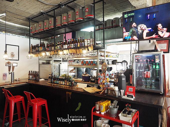 《台北大安。捷運科技大樓站美食》漫高三明治@美式啤酒屋風格,價略高味道佳得趁熱吃