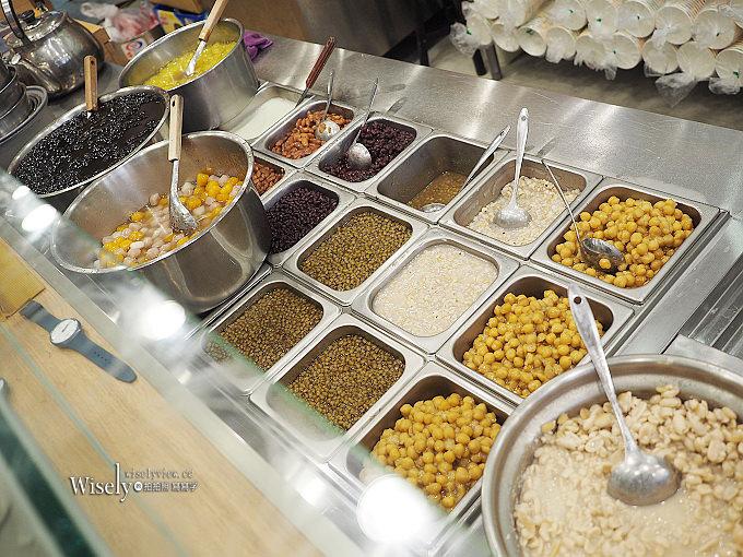 《新北新店。捷運大坪林站美食》穀早味豆花店@粗冰沙豆花與芋圓好吃份量多