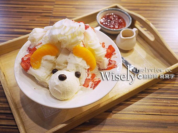 《台北萬華。南機場夜市》Fun+雪花冰、鬆餅輕食:動物造型冰品&炸饅頭