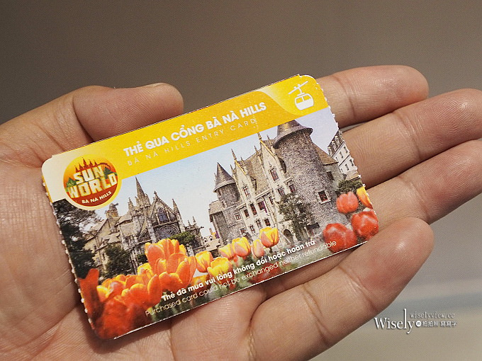 《越南。峴港景點》巴拿山空中樂園(Ba Na Hills Fantasy Park):法國山城酒莊庭園景點勝地