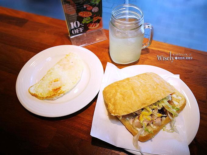 《台北大安。捷運科技大樓站》The Sandrich House:脆皮豬三明治好吃,環境氣氛輕鬆悠閒