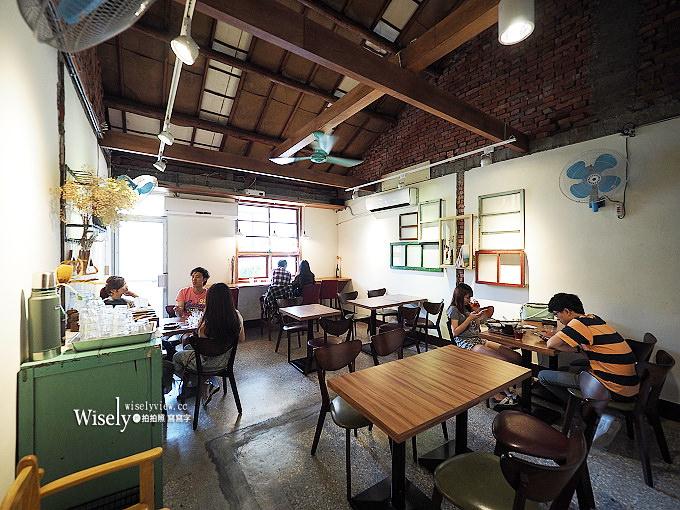 《台中西區。春田210》巷弄裡~懷舊老宅的和風甜點咖啡輕食,總匯水果鬆餅豐富好吃