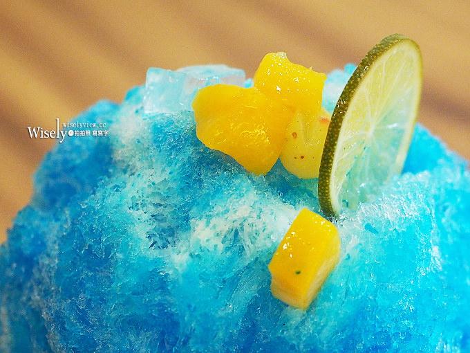 《台中西區。MACHIYA CAFÉ町家咖啡》隱身市場裡的美味宇治金時與夏日祭典藍柑橘刨冰
